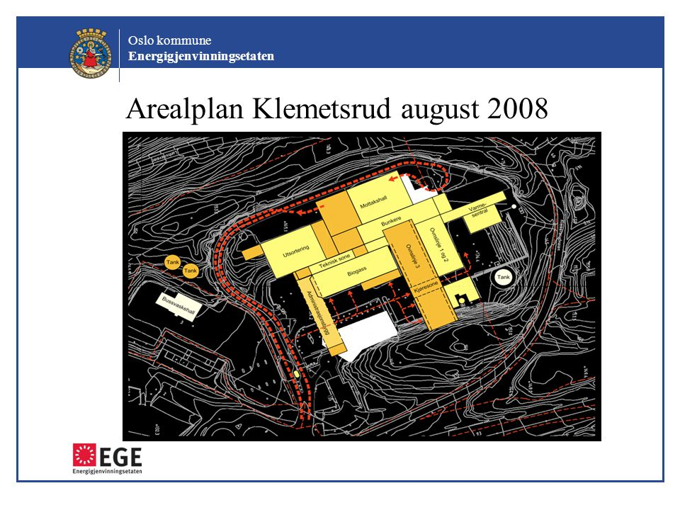 Arealplan Klemetsrud august 2008