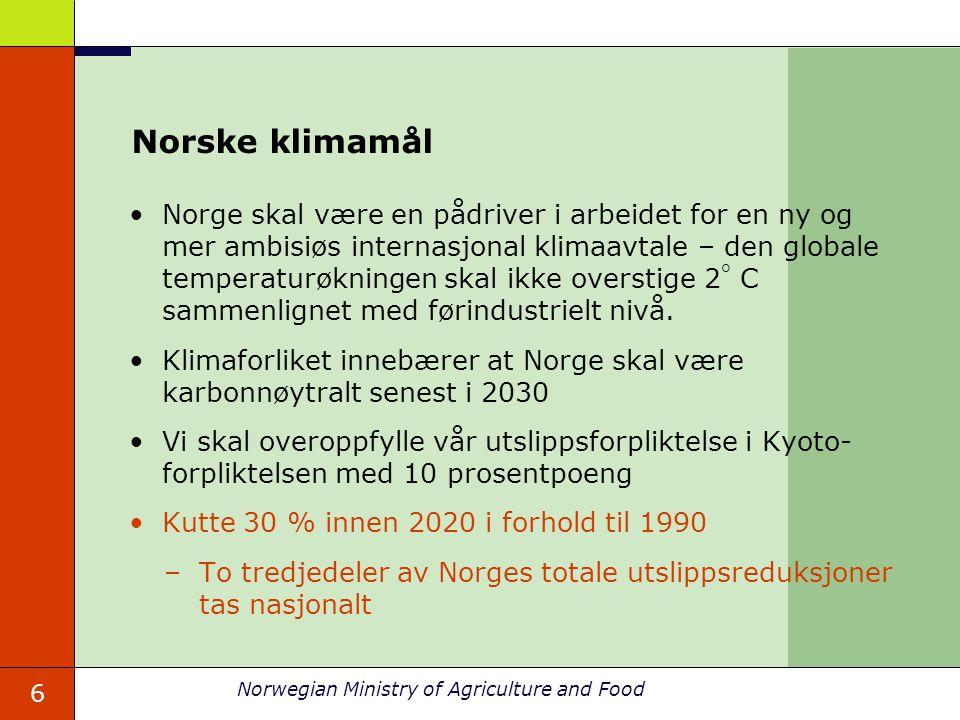 Norske klimamål