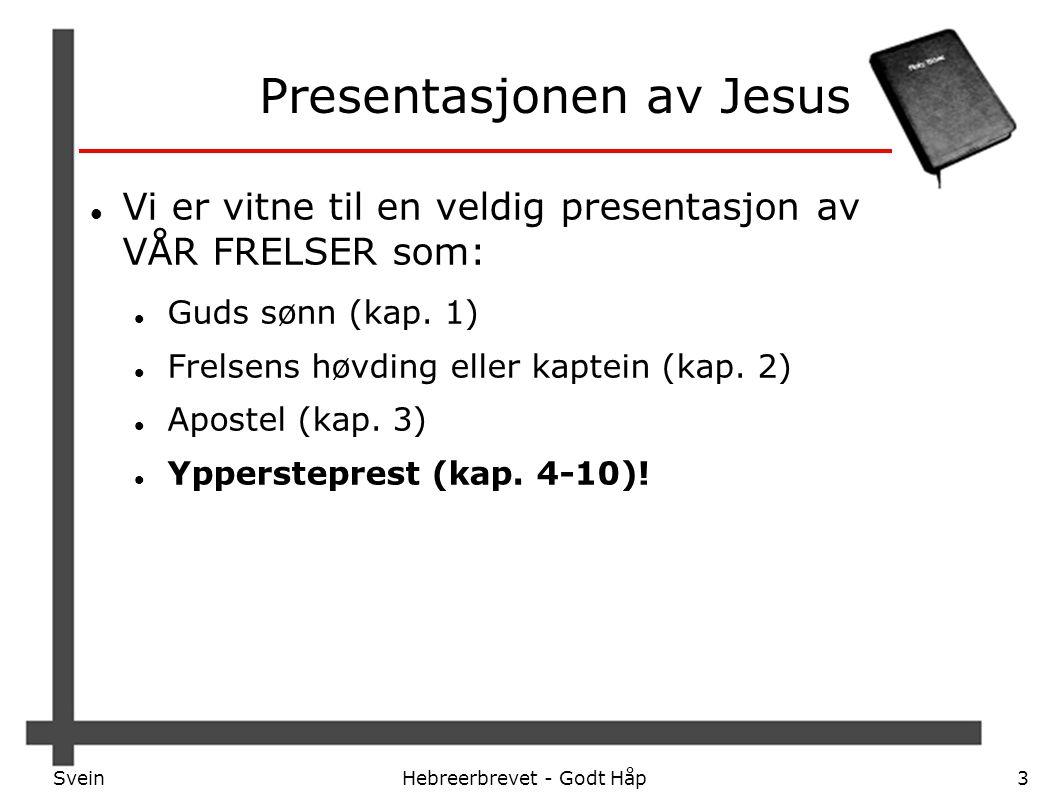 Presentasjonen av Jesus