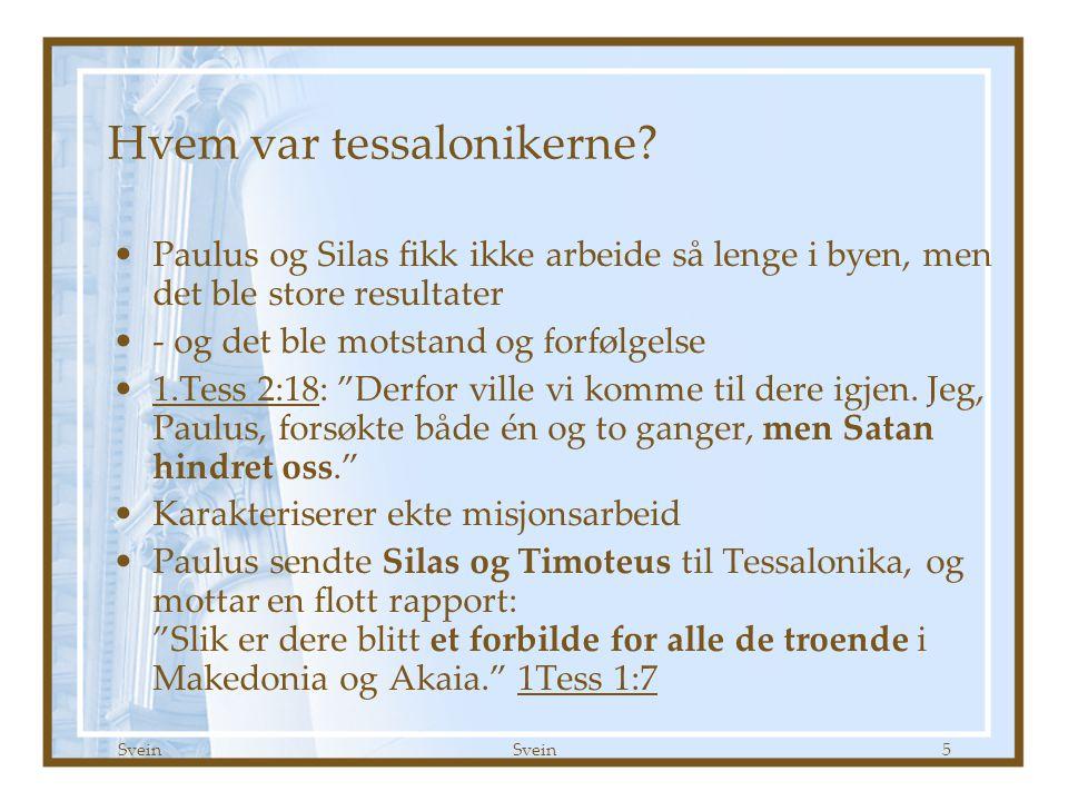 Hvem var tessalonikerne