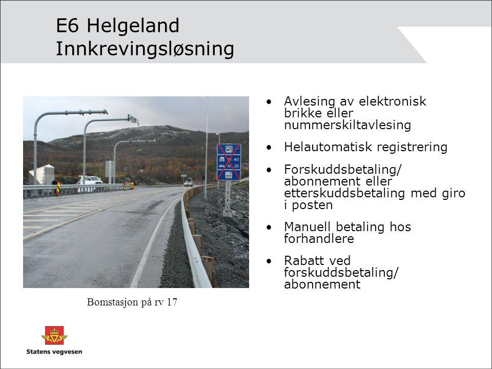 E6 Helgeland Innkrevingsløsning