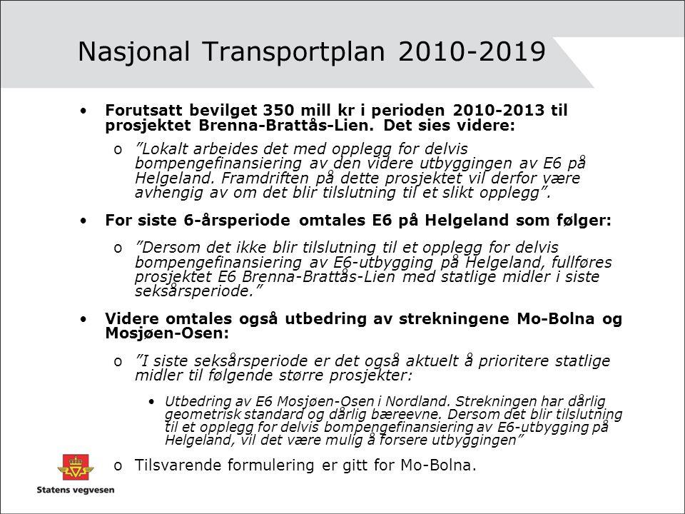 Nasjonal Transportplan 2010-2019