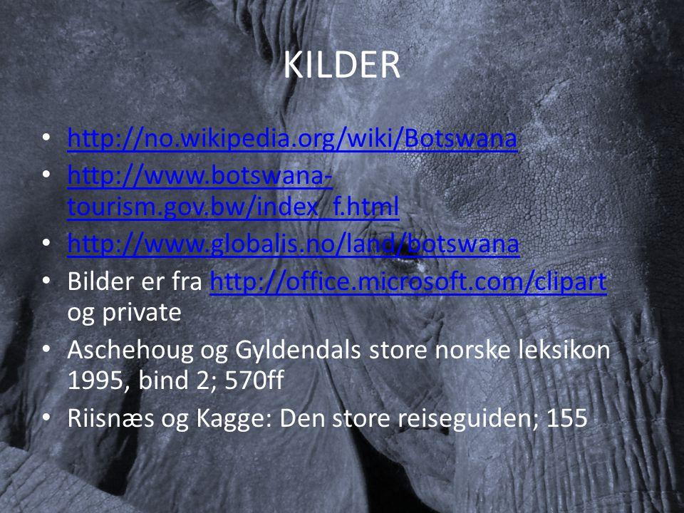 KILDER http://no.wikipedia.org/wiki/Botswana