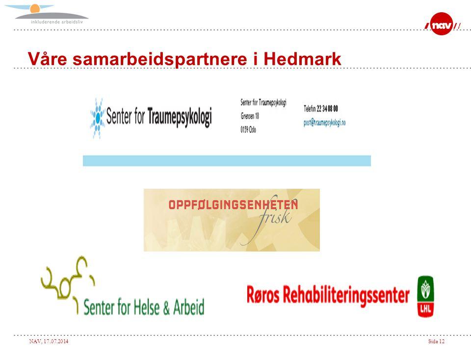 Våre samarbeidspartnere i Hedmark