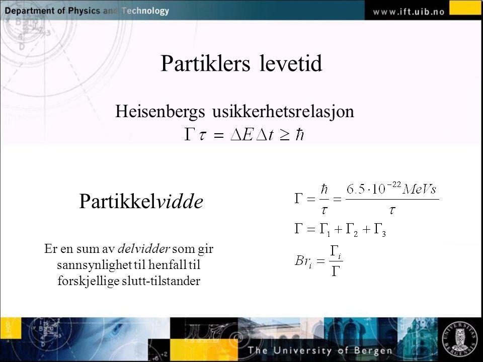Heisenbergs usikkerhetsrelasjon