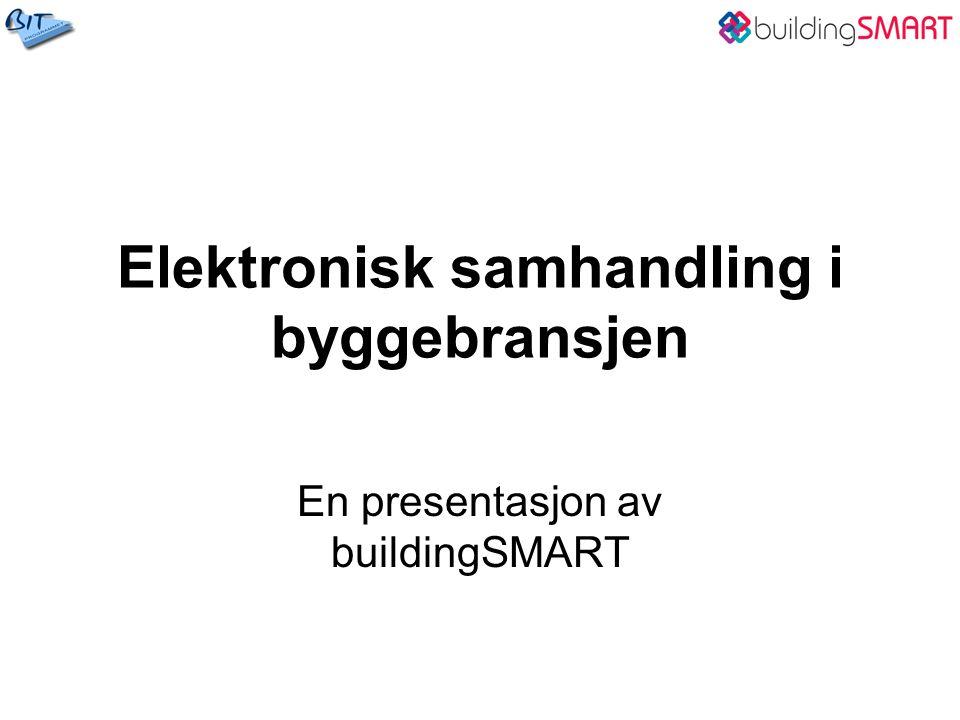 Elektronisk samhandling i byggebransjen