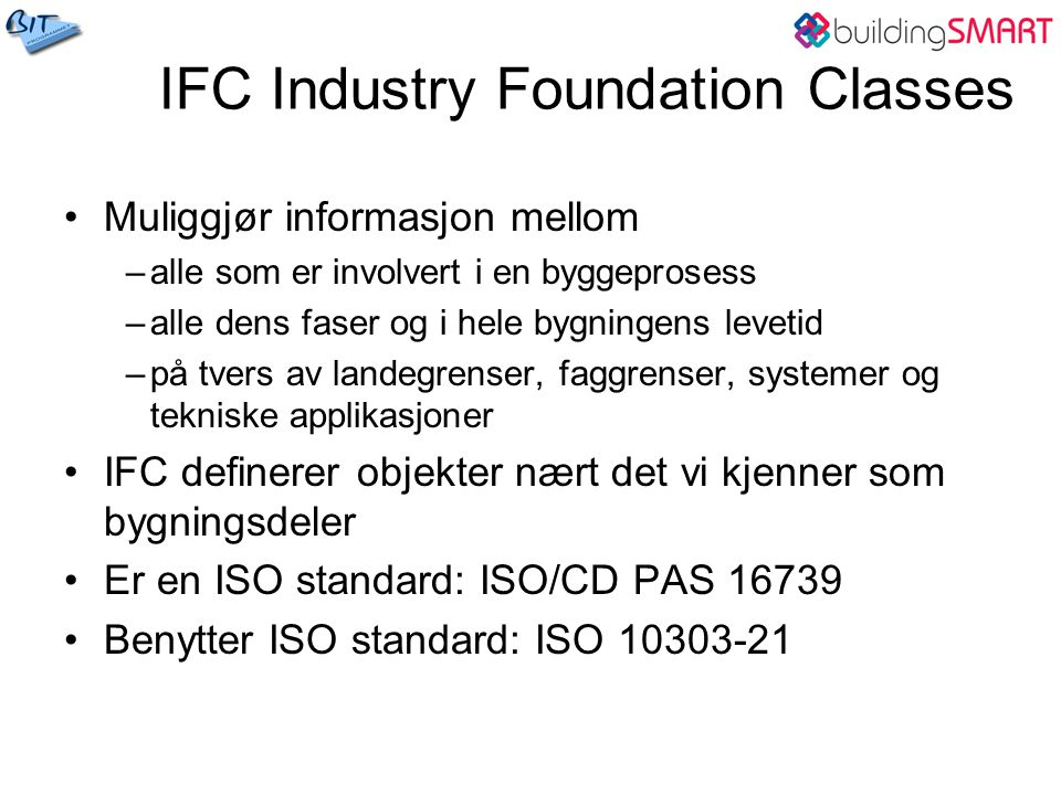 IFC Industry Foundation Classes