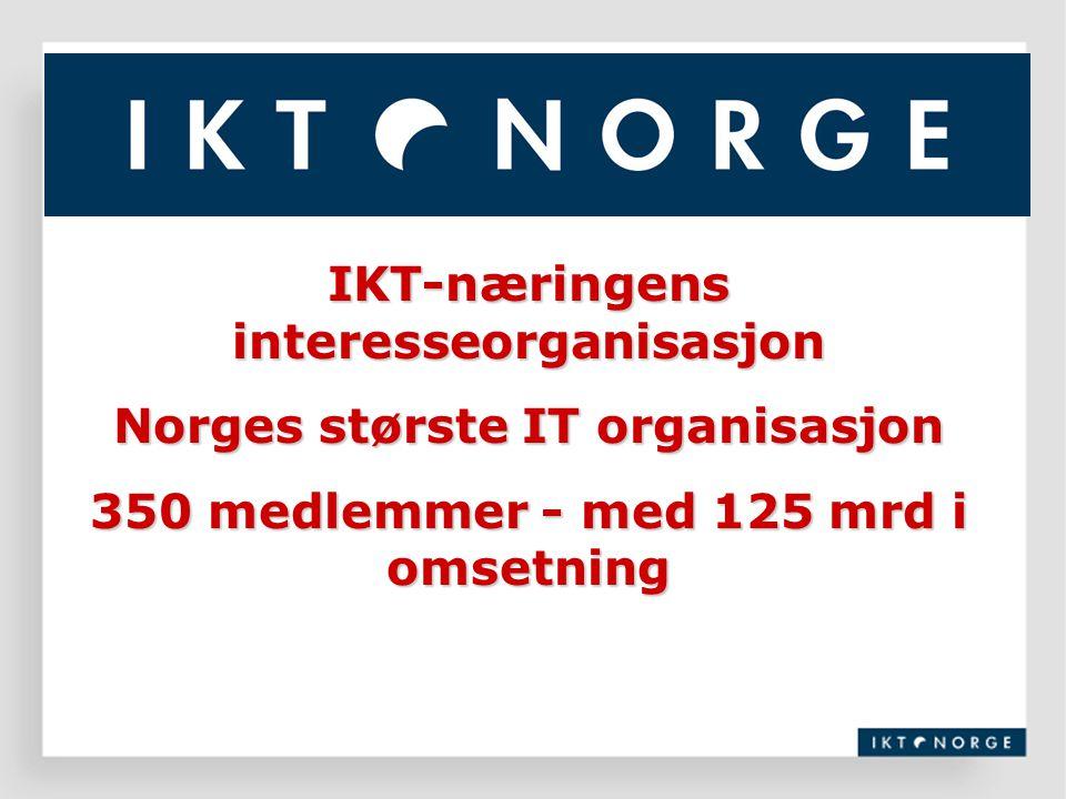 IKT-næringens interesseorganisasjon Norges største IT organisasjon