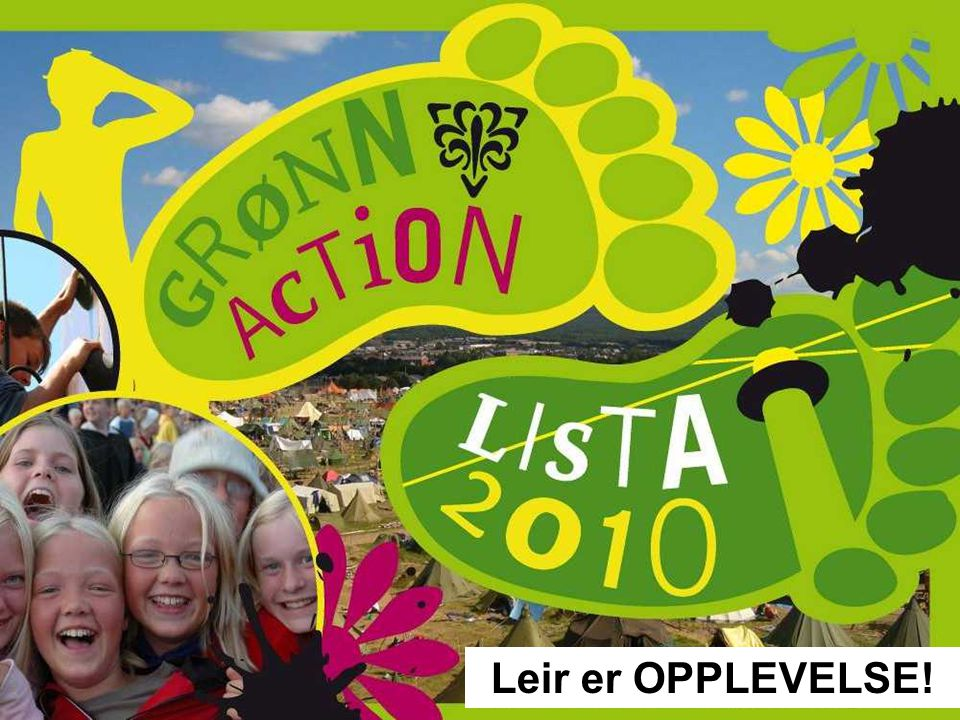 Grønn Action – Lista 2010 var en kjempeopplevelse for 5209 speidere.