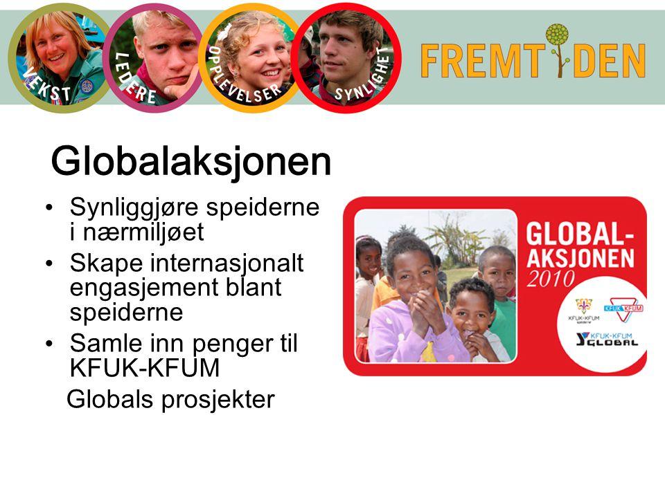 Globalaksjonen Synliggjøre speiderne i nærmiljøet
