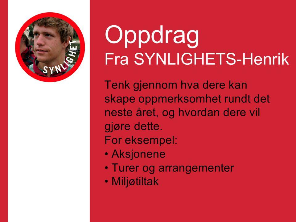 Oppdrag Fra SYNLIGHETS-Henrik