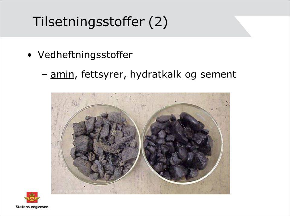 Tilsetningsstoffer (2)
