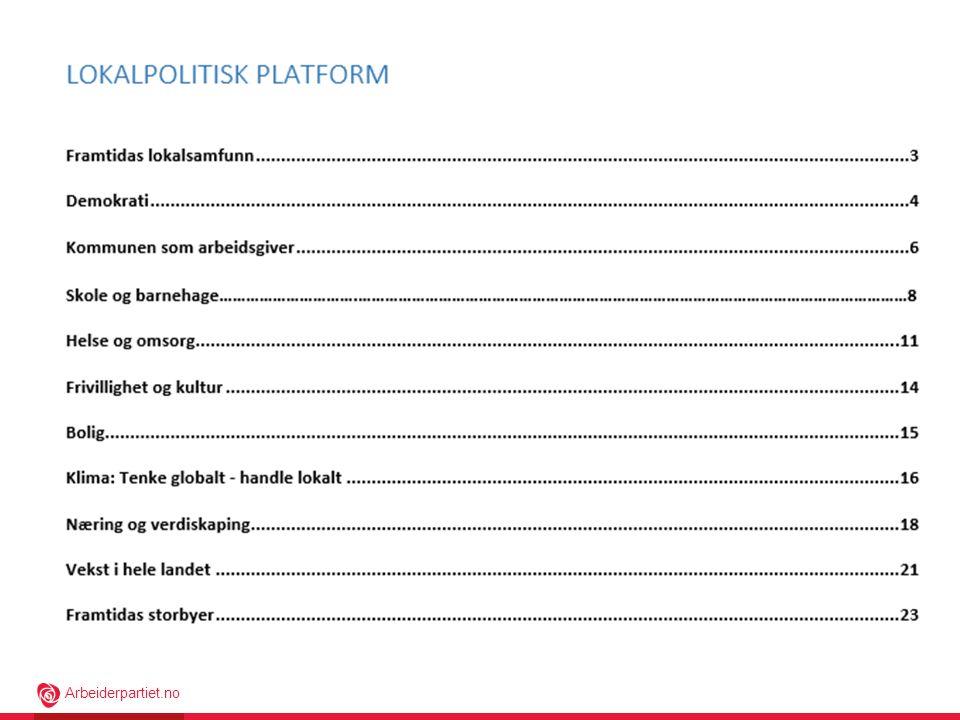 Her ser dere kapittelinndelingen i plattformen.