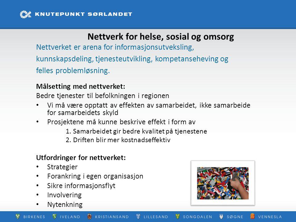 Nettverk for helse, sosial og omsorg