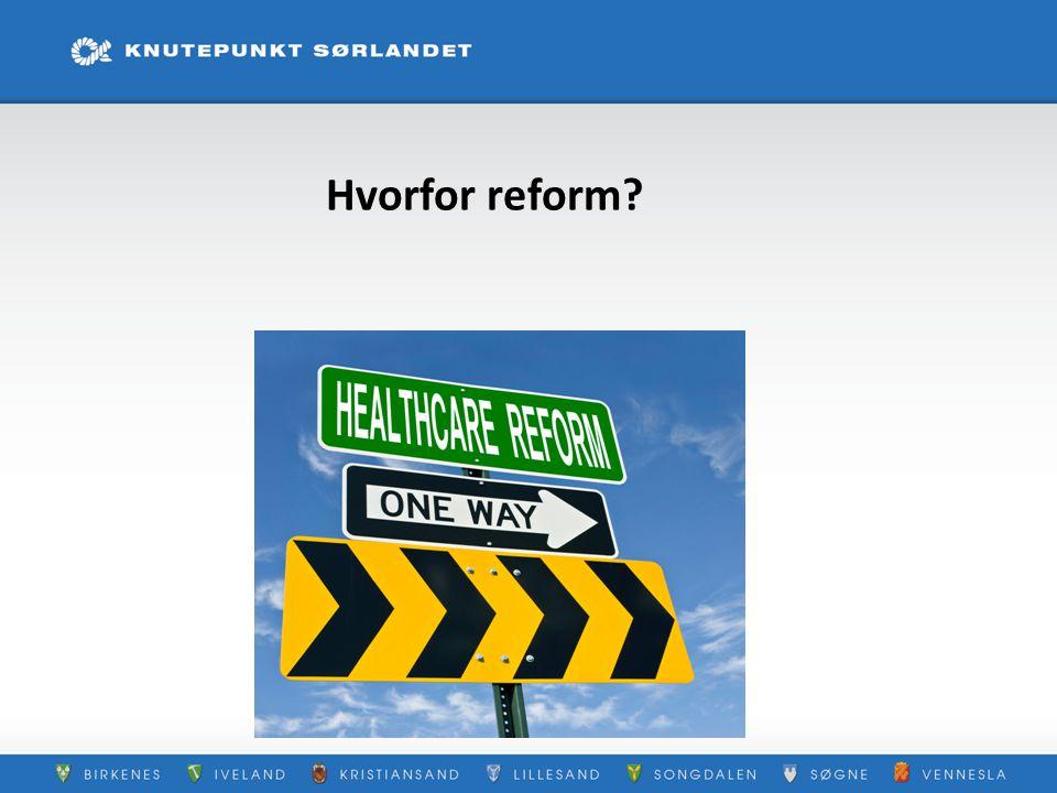 Hvorfor reform