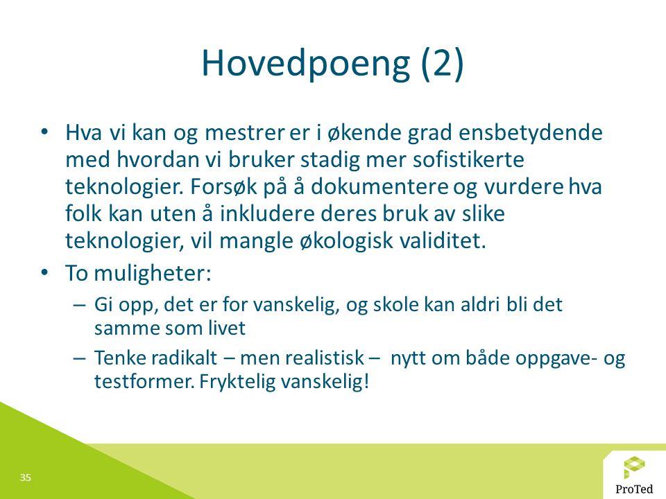 Hovedpoeng (2)