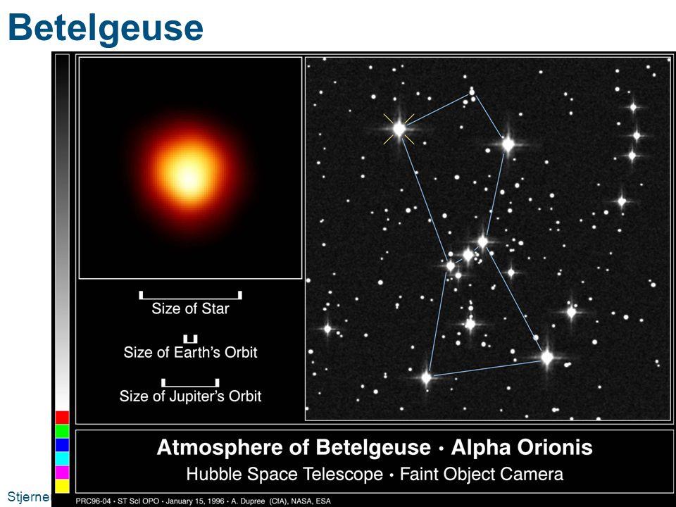 Betelgeuse Stjerneutvikling