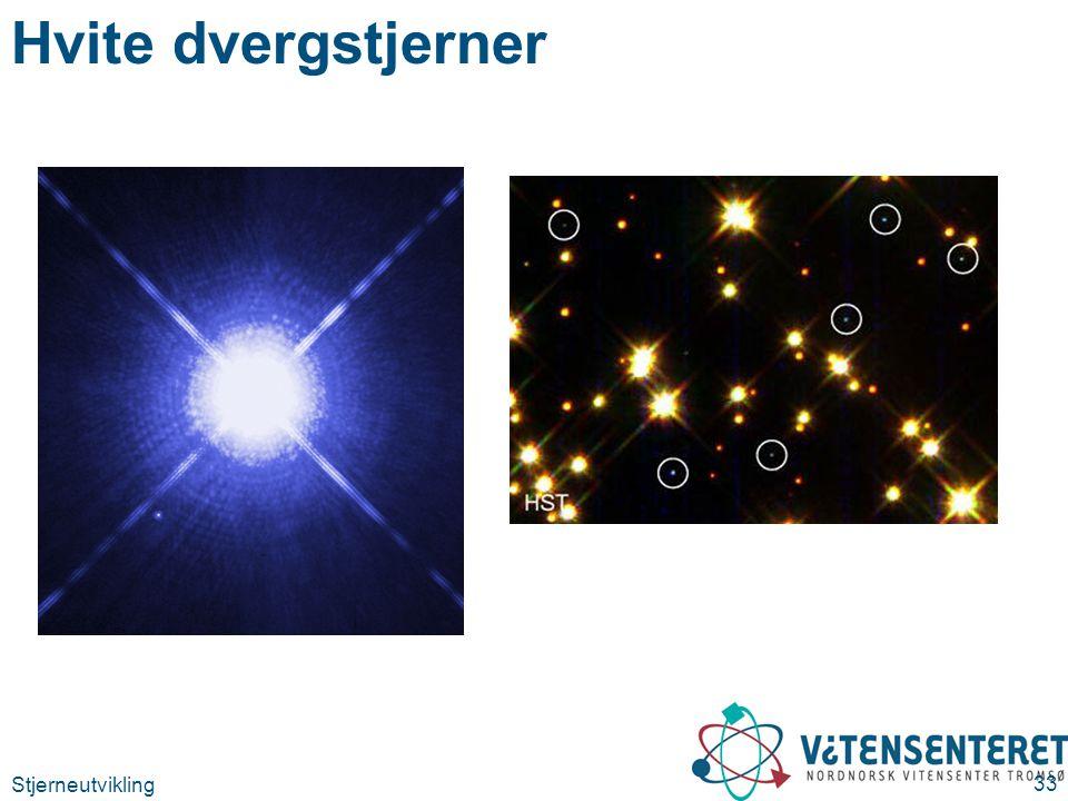 Hvite dvergstjerner Sirius A og B (http://sci.esa.int/science-e/www/object/index.cfm fobjectid=38421)