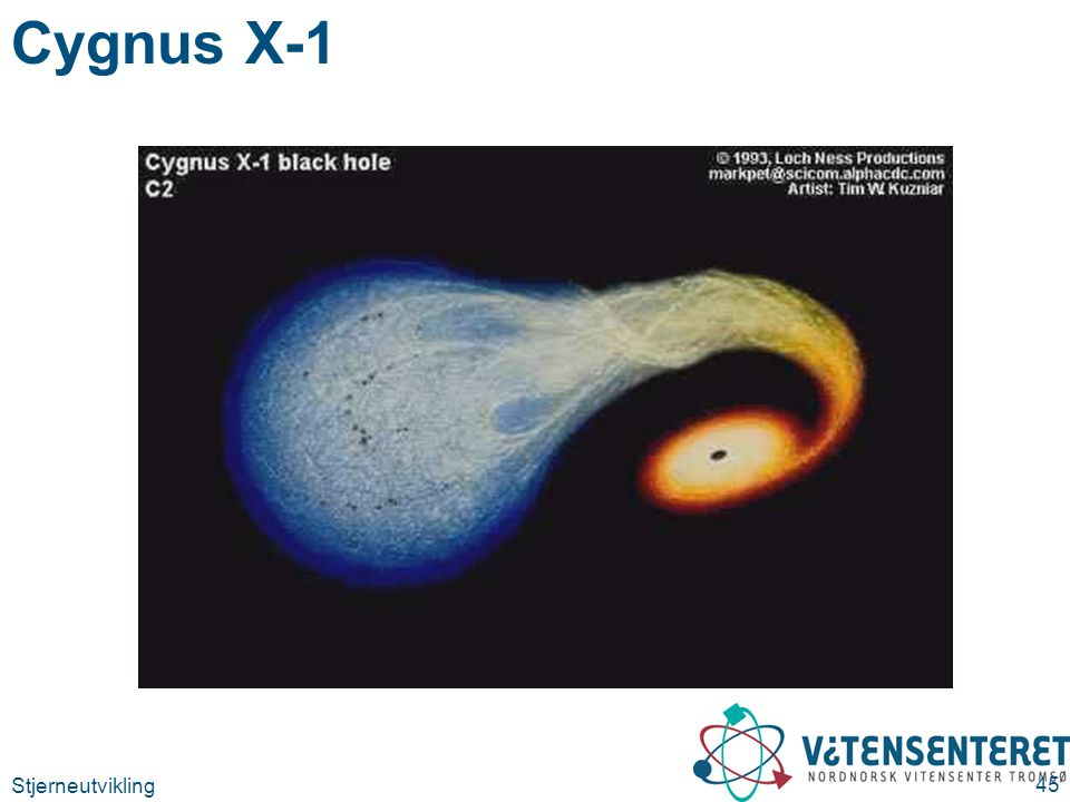 Cygnus X-1 Stjerneutvikling