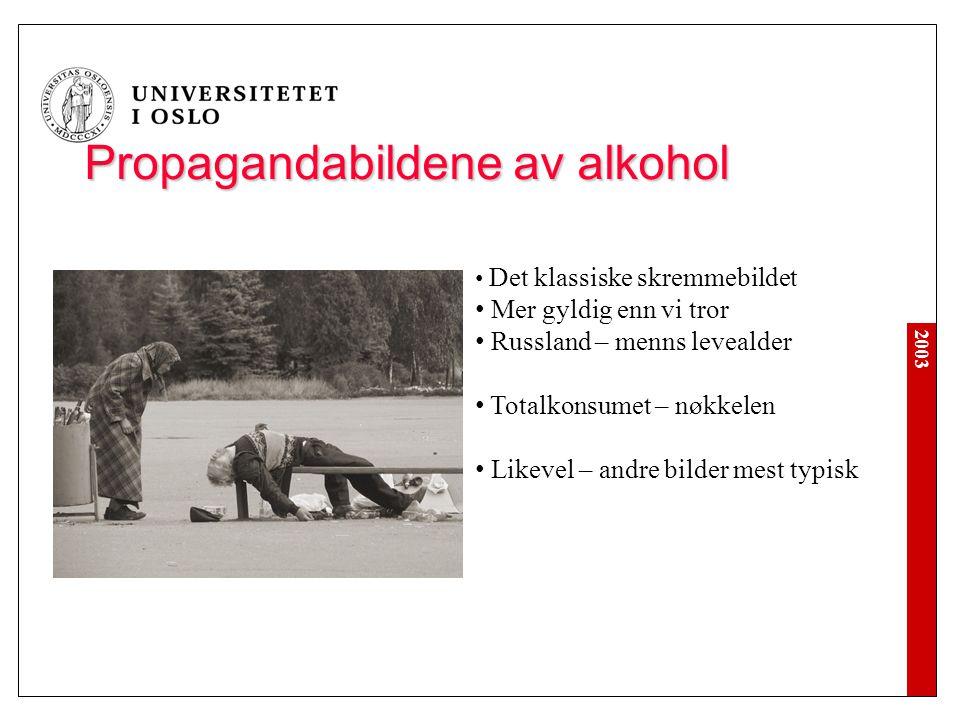Propagandabildene av alkohol