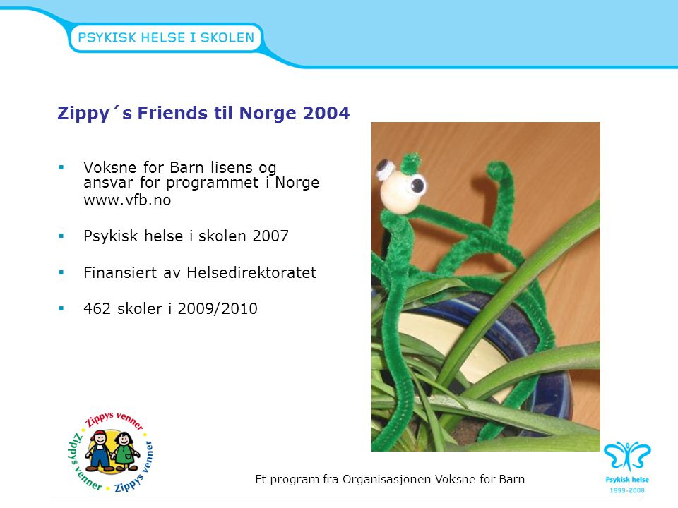 Zippy´s Friends til Norge 2004