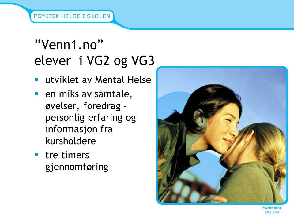 Venn1.no elever i VG2 og VG3