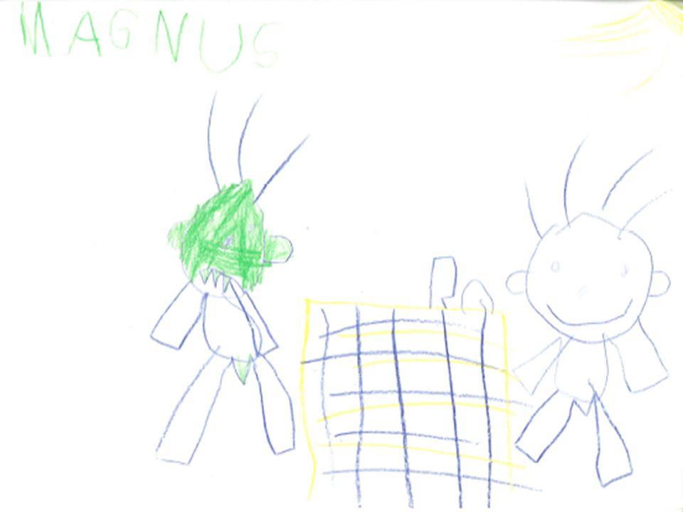 Tegning Grønn av misunnelse. Nytt pennal,stort,fint m mange rom.