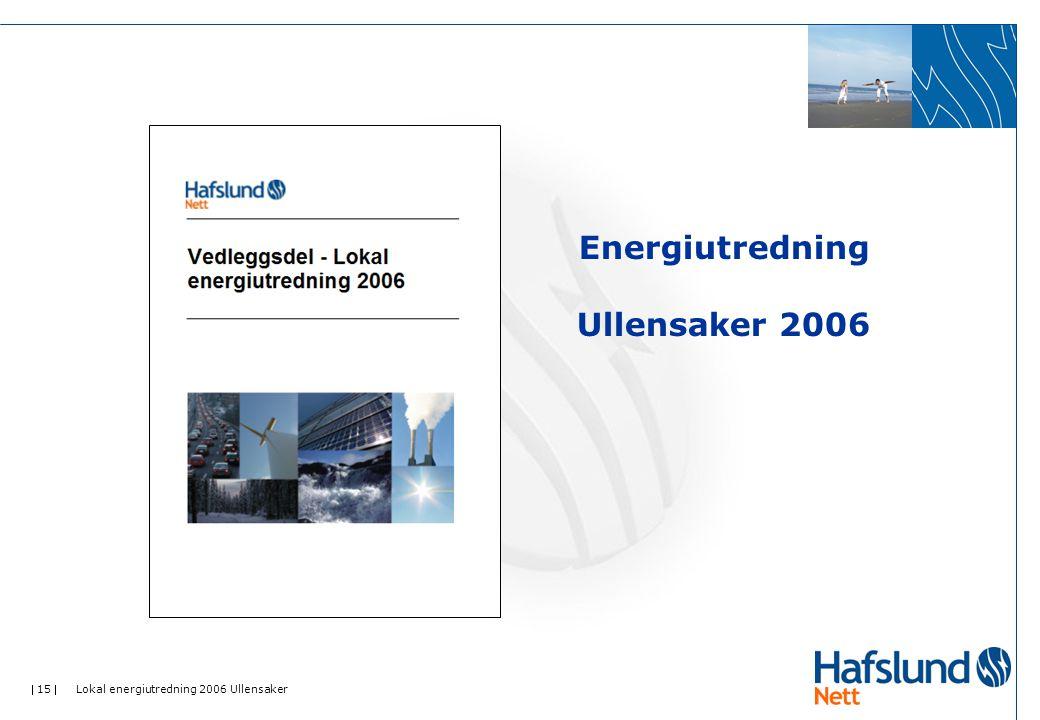 Energiutredning Ullensaker 2006