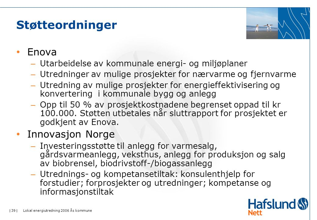 Støtteordninger Enova Innovasjon Norge