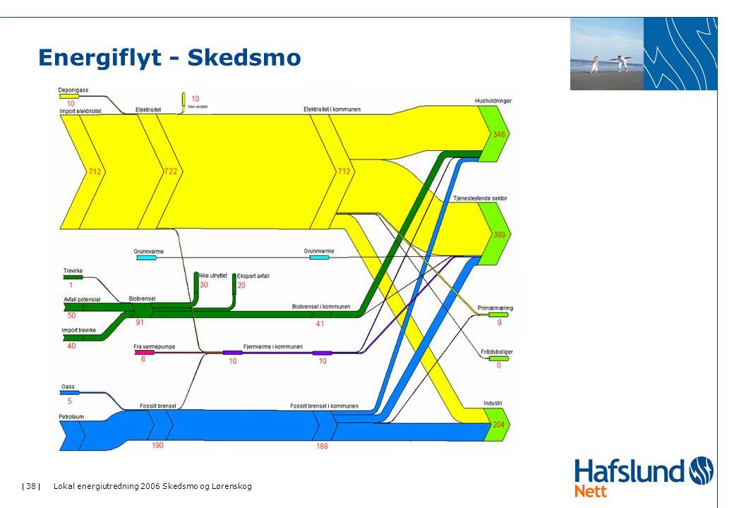 Energiflyt - Skedsmo Lokal energiutredning 2006 Skedsmo og Lørenskog