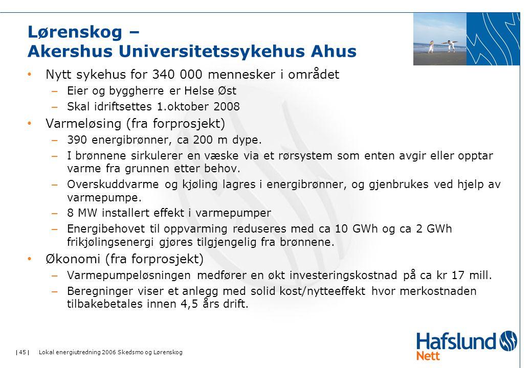 Lørenskog – Akershus Universitetssykehus Ahus