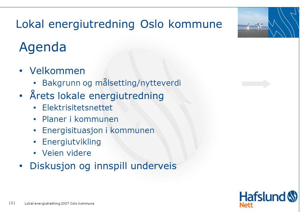 Lokal energiutredning Oslo kommune