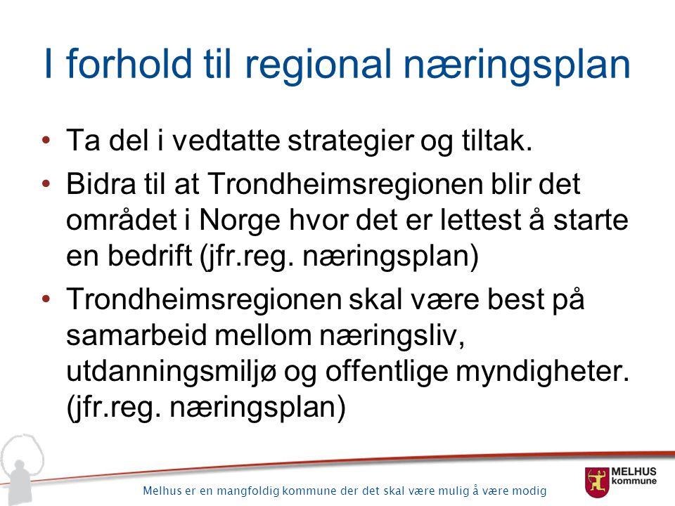 I forhold til regional næringsplan