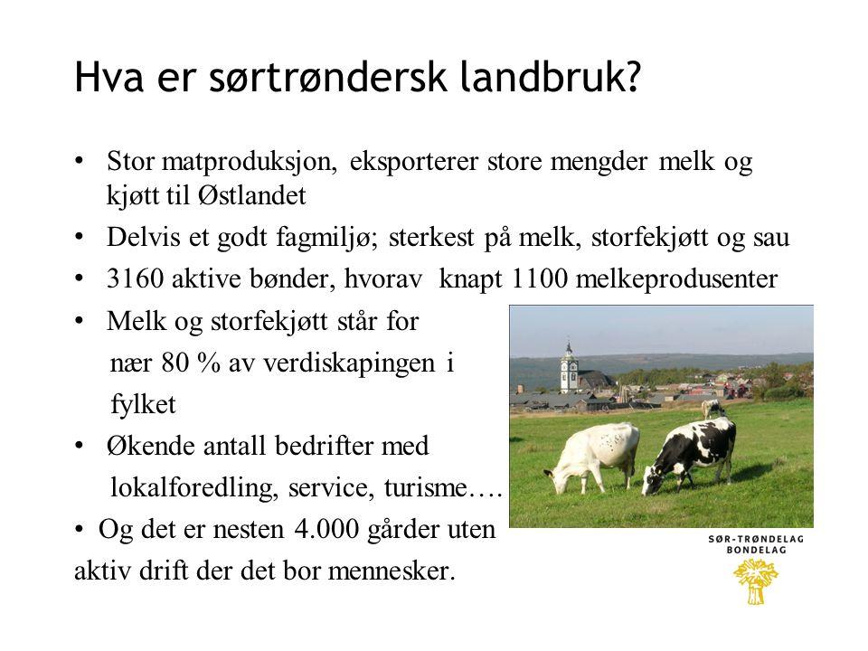 Hva er sørtrøndersk landbruk