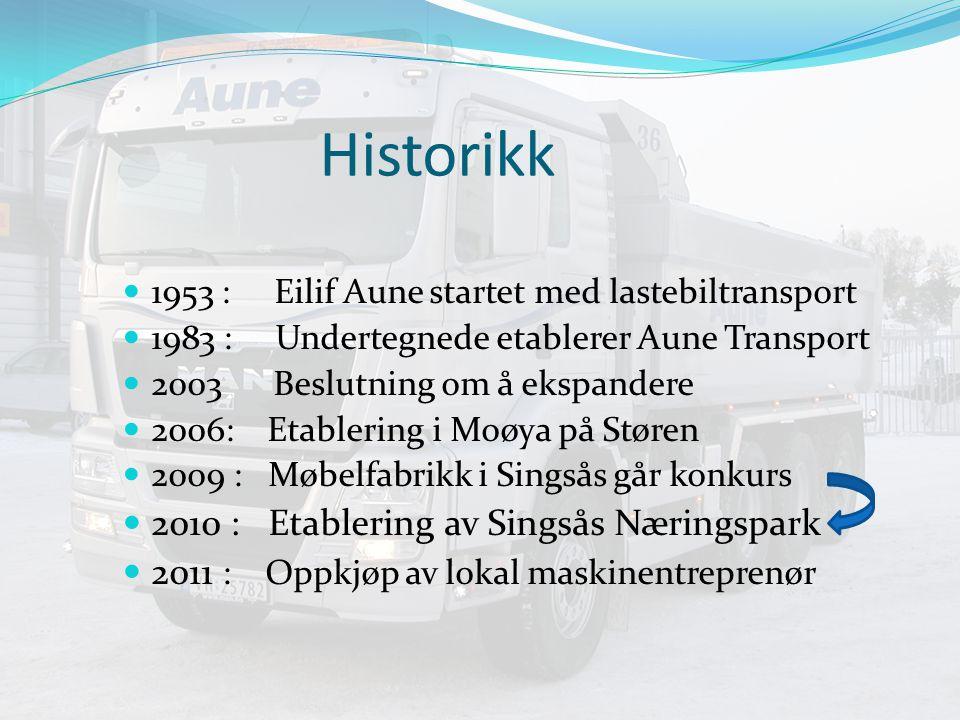 Historikk 2010 : Etablering av Singsås Næringspark