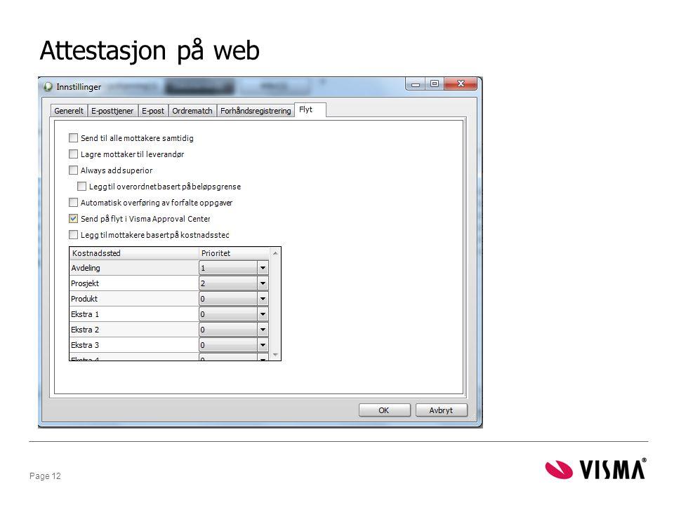 Attestasjon på web
