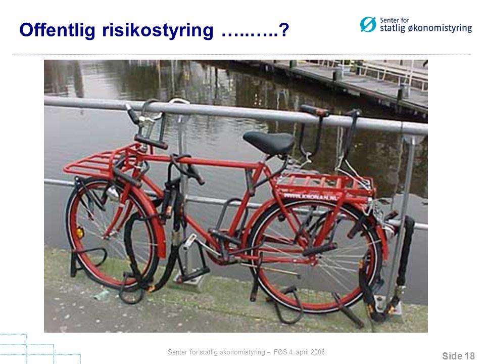 Offentlig risikostyring …..…..