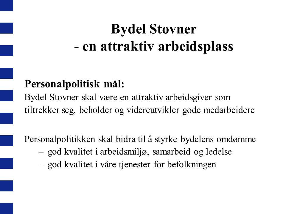 Bydel Stovner - en attraktiv arbeidsplass
