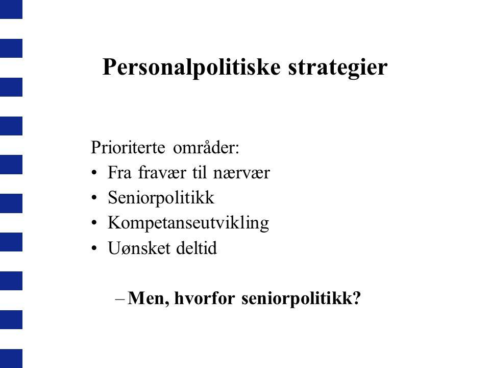 Personalpolitiske strategier