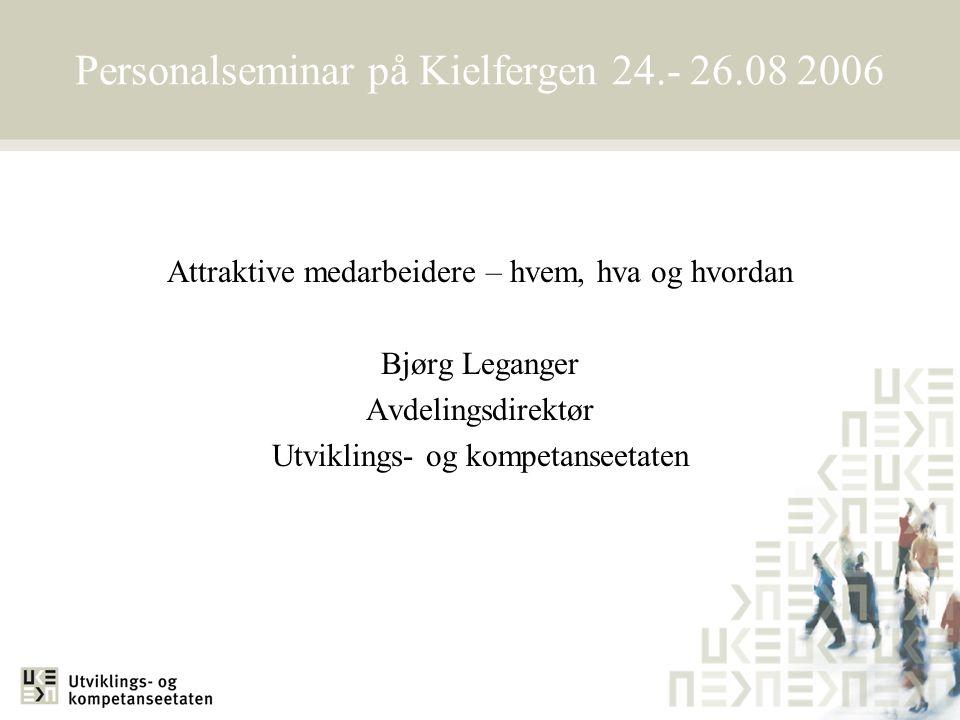 Personalseminar på Kielfergen 24.- 26.08 2006