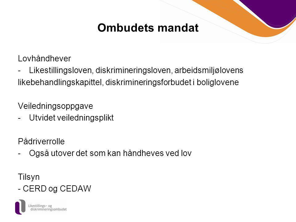 Ombudets mandat Lovhåndhever