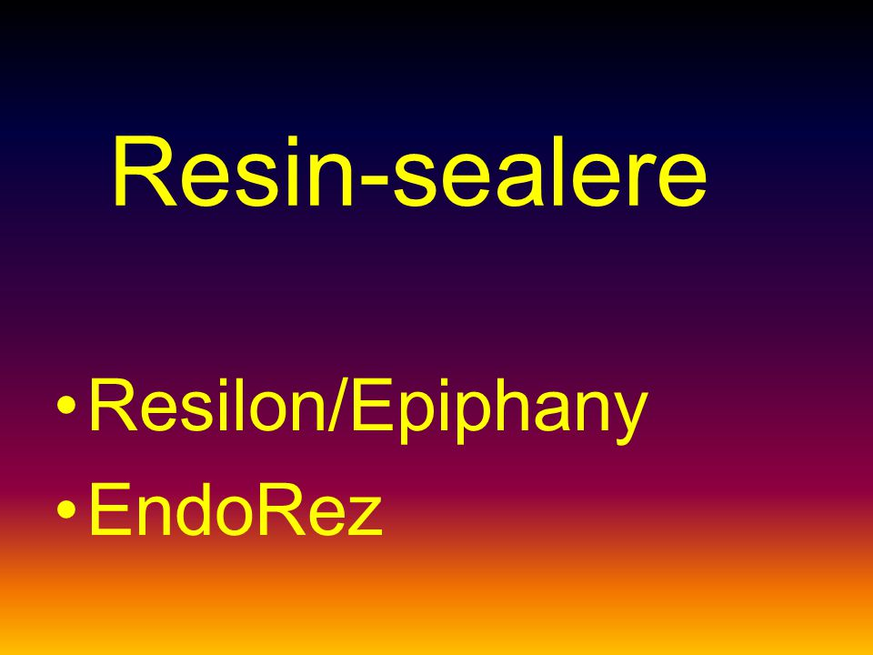 Resin-sealere Resilon/Epiphany EndoRez
