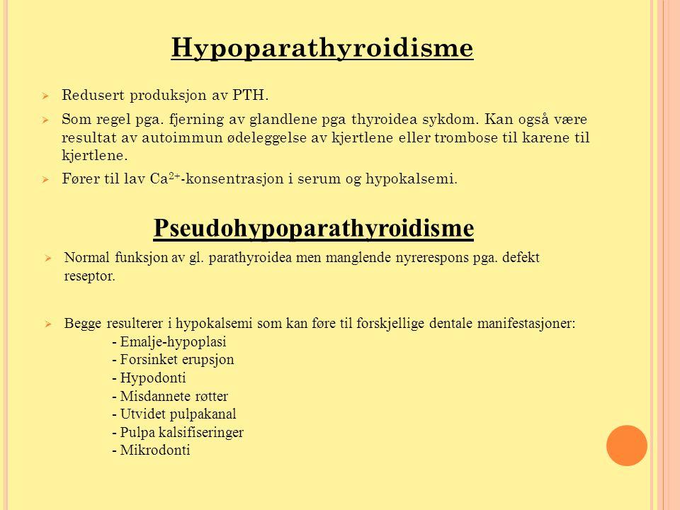 Pseudohypoparathyroidisme