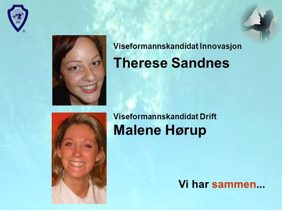 Viseformannskandidat Innovasjon Therese Sandnes