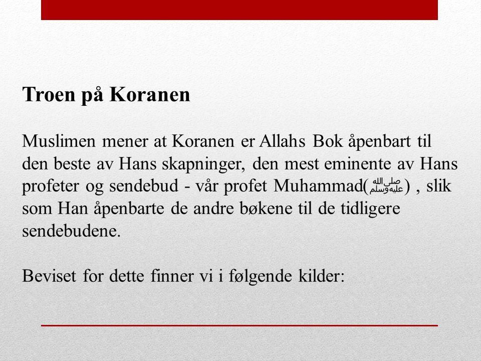 Troen på Koranen