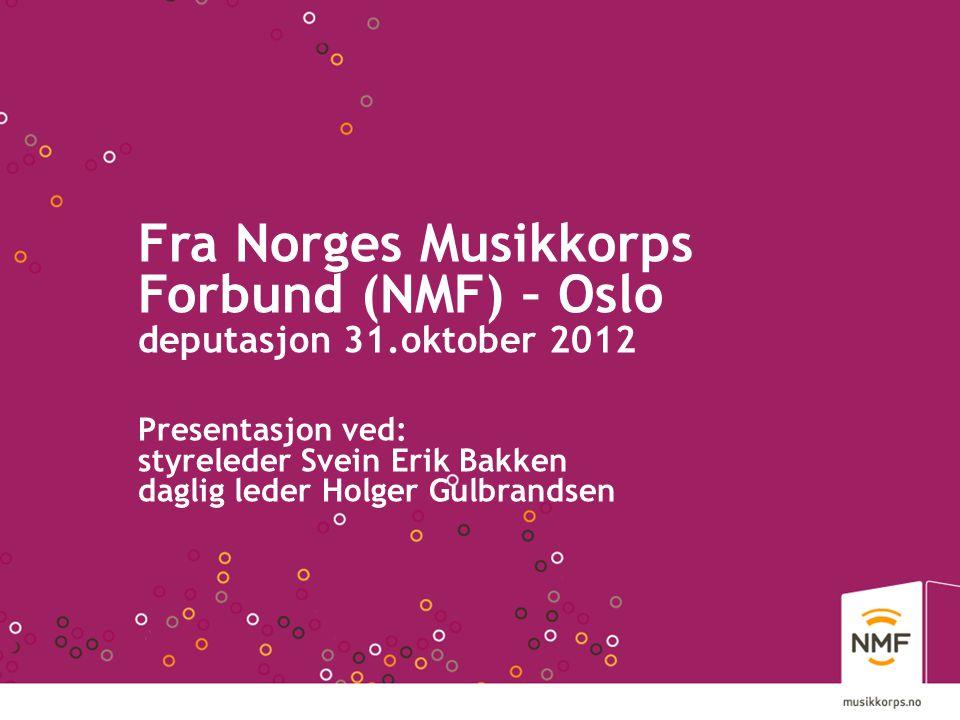 Fra Norges Musikkorps Forbund (NMF) – Oslo