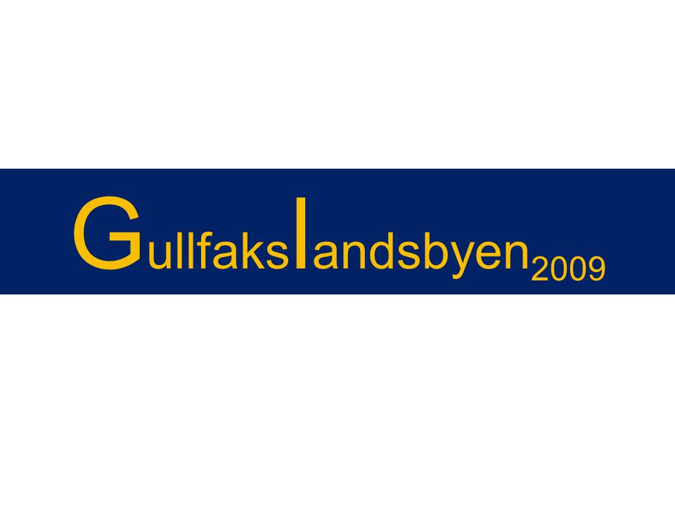 Gullfakslandsbyen2009