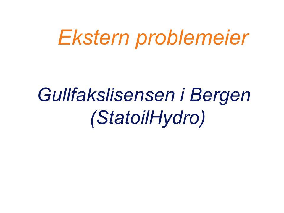Gullfakslisensen i Bergen (StatoilHydro)
