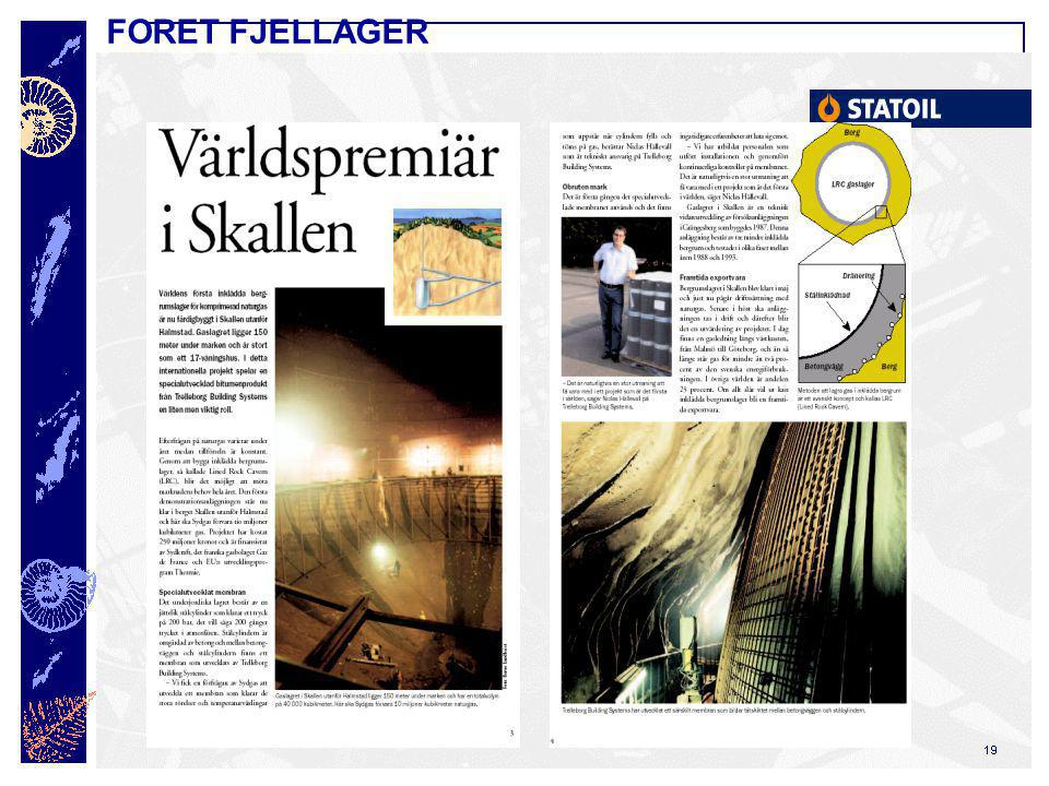 FORET FJELLAGER