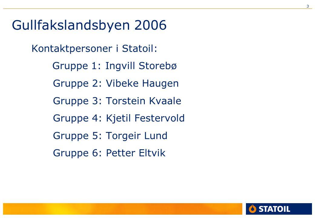 Gullfakslandsbyen 2006 Gruppe 2: Vibeke Haugen
